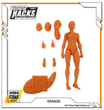 Vitruvian H.A.C.K.S. Action Figure Blank - Female Body