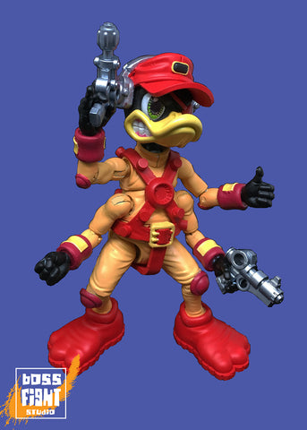 Boss Fight action figure Bucky O/'Hare Bucky O/'Hare NEW