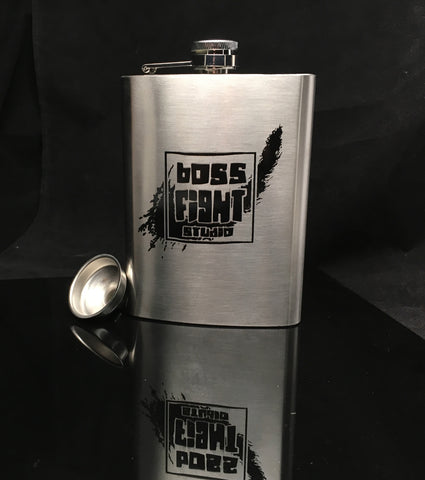 Hip Flask - Boss Fight Studio Logo