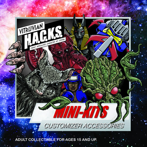 Vitruvian H.A.C.K.S. - Mini-Kit Blind Bags Assortment Box