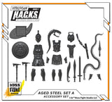 Aged Steel - Accessory Set - A