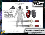 MIGHTY STEEDS - KNIGHT OF ASPERITY MINI GEAR KIT -BFS EXCLUSIVE