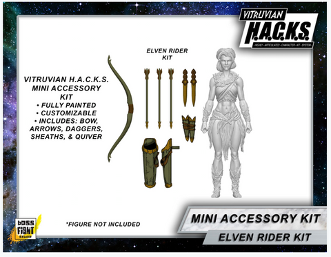 MIGHTY STEEDS - ELVEN MINI GEAR KIT BOSS FIGHT ONLY EXCLUSIVE