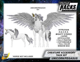 MIGHTY STEEDS - BRIGHT PEGASUS AND UNICORN CREATURE KIT