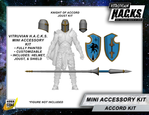 MIGHTY STEEDS - KNIGHT OF ACCORD MINI GEAR KIT