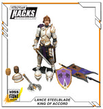 PRE-ORDER - Vitruvian H.A.C.K.S. Lance Steelblade - King of Accord