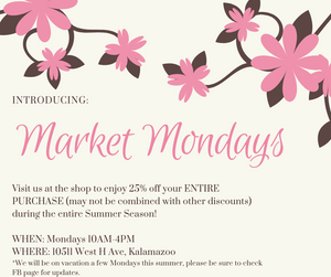 Introducing: Market Mondays!