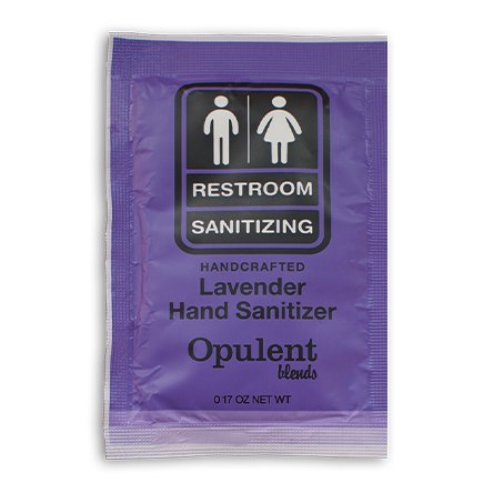 Hand Sanitizer Single Use Packet - Lavender