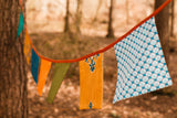 Boho Wedding Or Home Decor Square Bunting