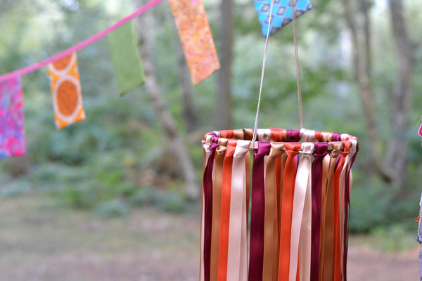 bohemian ribbon decoration