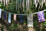 Personalised Boho Square Wedding Bunting Home Decor