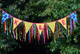 Alternative Wedding Bunting With Ribbon