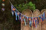 Boho Mr & Mrs Bunting With Ribbon
