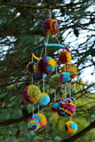 Boho Pom-Pom Wedding Or Baby Mobile