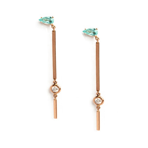 Exuma Earrings. Genevieve Lau Jewelry. Purpose Driven Elegance.