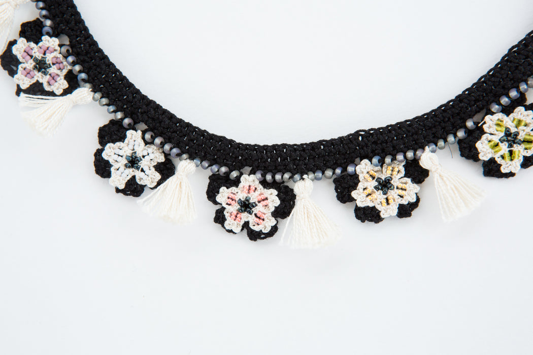 Blossom Tassel Necklace
