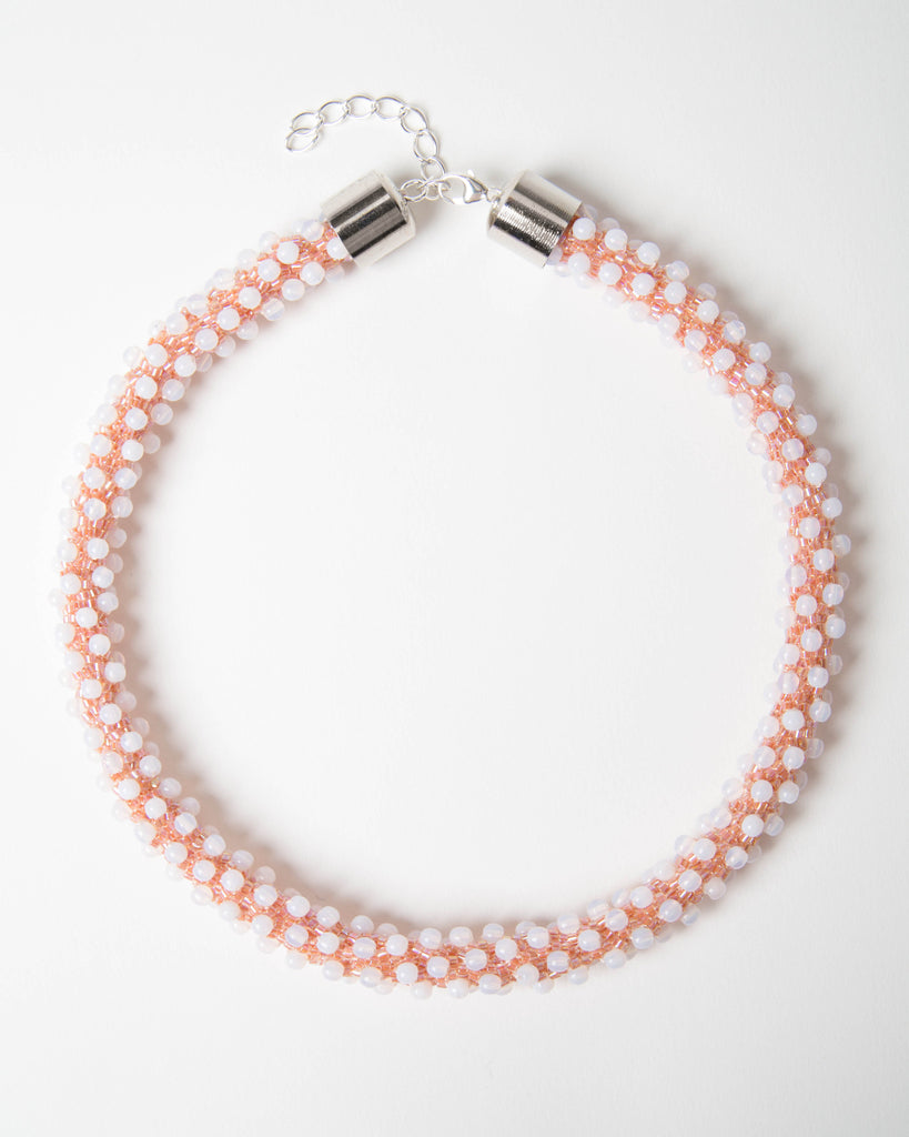 Polka Dot Rope Necklace