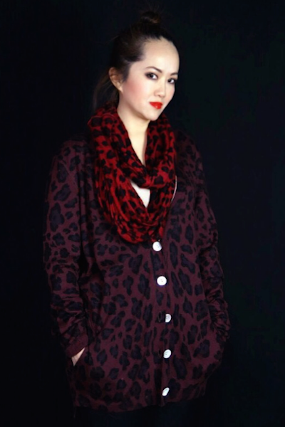 kina faded line leopard