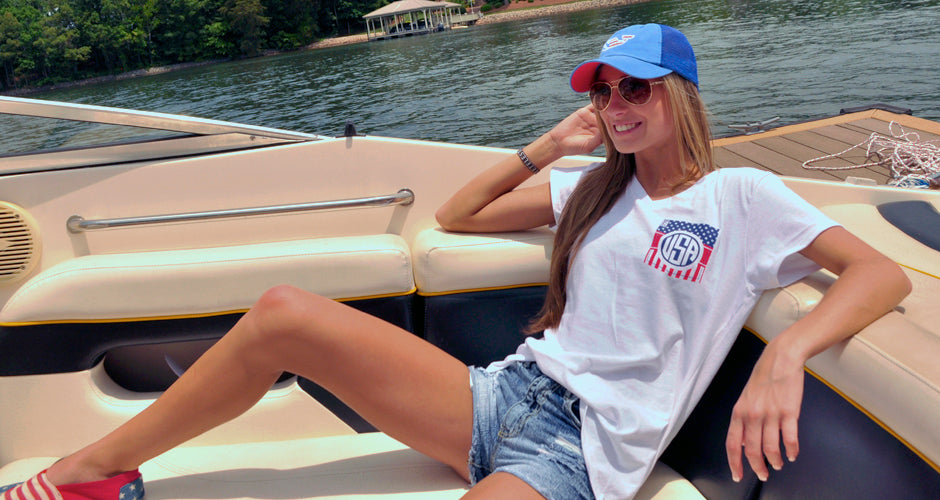Royce Brand Preppy Americana Southern Pigment State Pride Tees Tanks T-Shirts