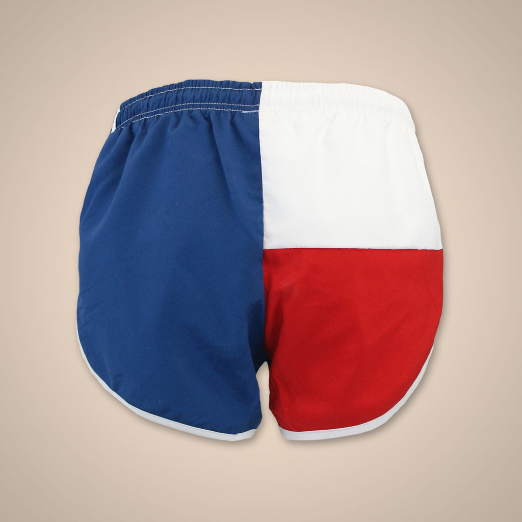 Flag Short - Red White and Blue