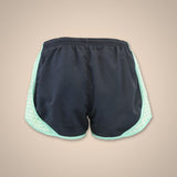 Gingham Shorts - Navy