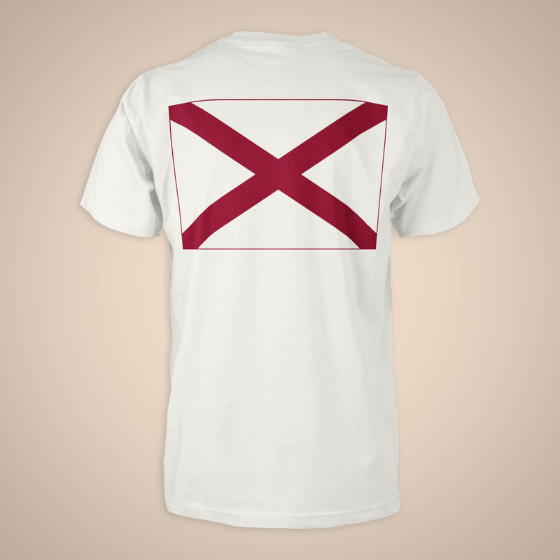 Flag Pocket Tee - Alabama (Unisex)