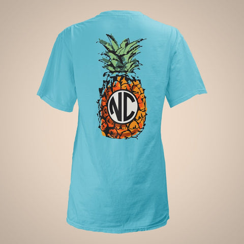 Pineapple Monogram - North Carolina