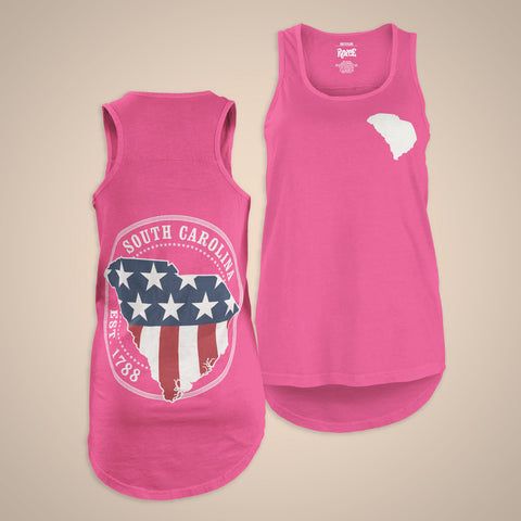 Patriotic State Tank - South Carolina