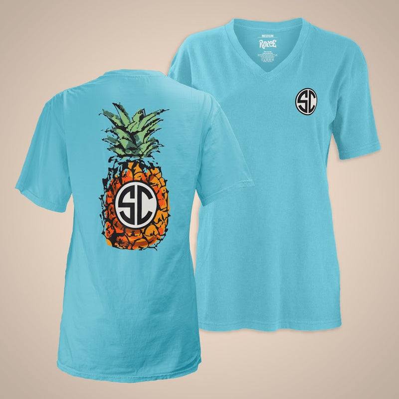Pineapple Monogram - South Carolina
