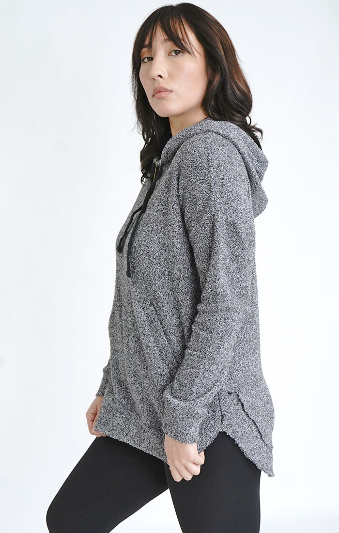 Comfy Terry Poncho Hoodie