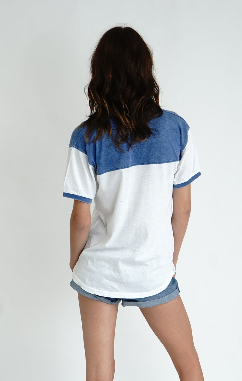 Two Tone Vintage Washed Tee