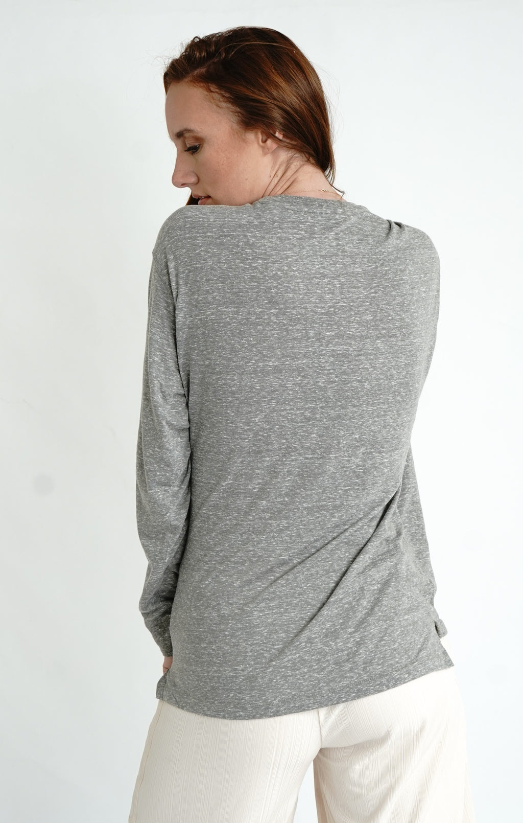 Knobi Long Sleeve Crew