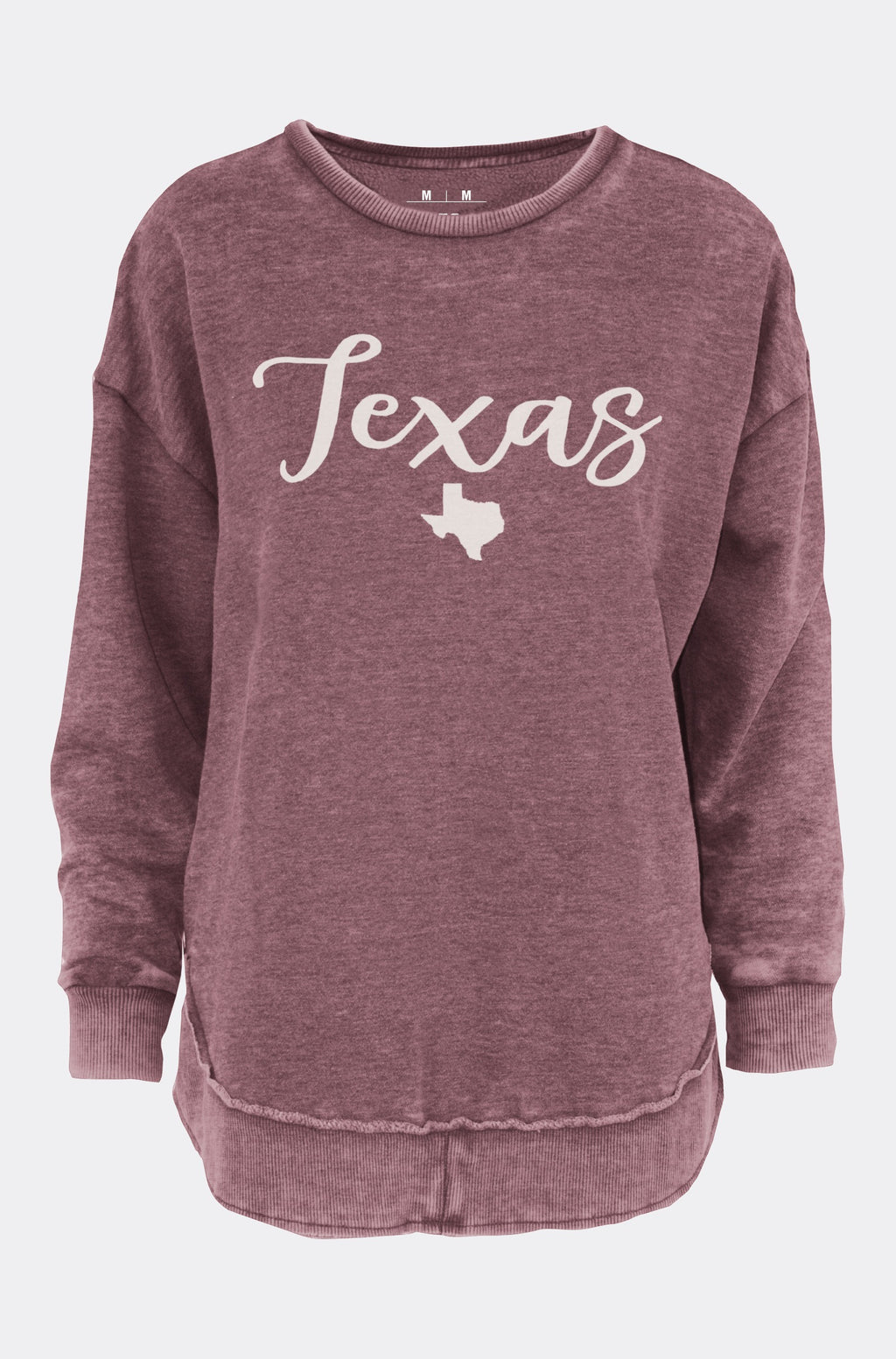 "Poncho Fleece ""Texas Gertrude"""