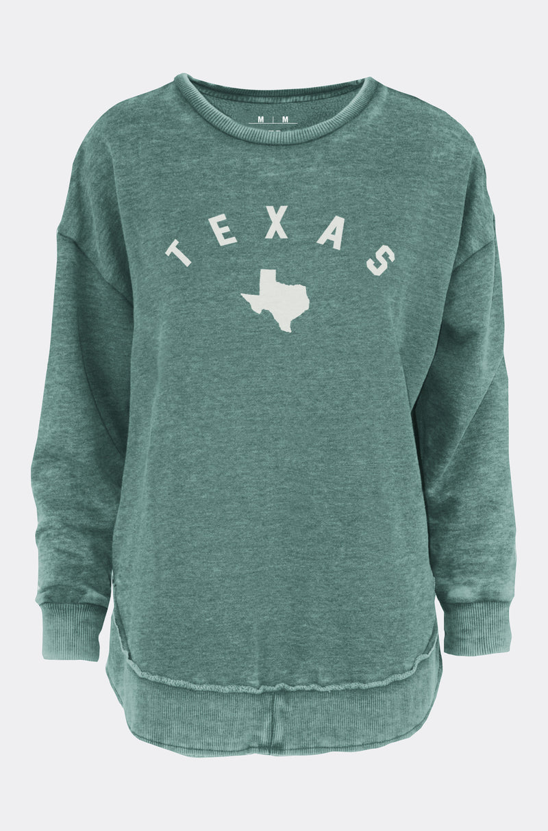 "Poncho Fleece ""Texas Pacey"""