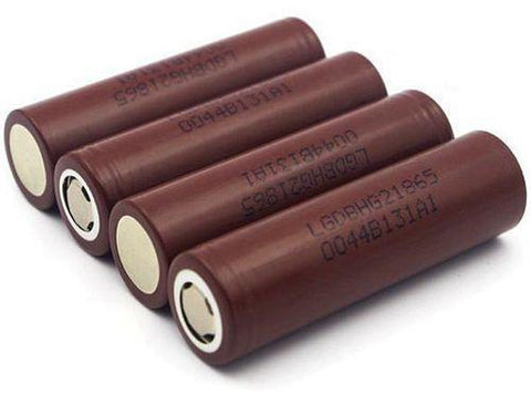 GENUINE LG 18650HG2 3000mAh High Discharge Flat top battery