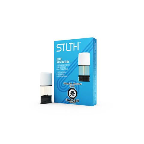 STLTH Pod Pack (3 Pack) - Blue Raspberry
