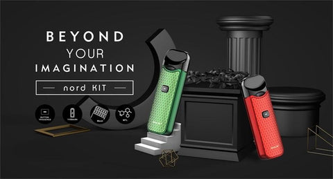 SMOK Nord Pod Kit - NEW RESIN COLOURS!