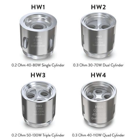 (DISCONTINUED) Eleaf Ello HW Coil Heads (pack of 5)