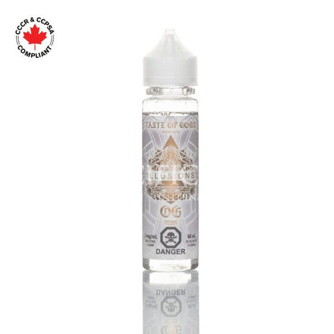 Illusions eliquid - Taste of Gods OG