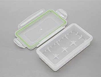 Water resistant 2x 18650 Battery case