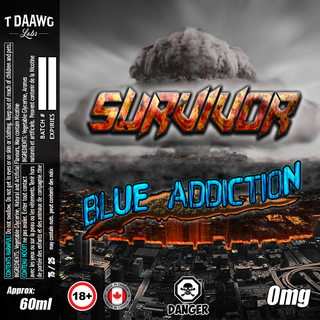 T Daawg Labs - Blue Addiction