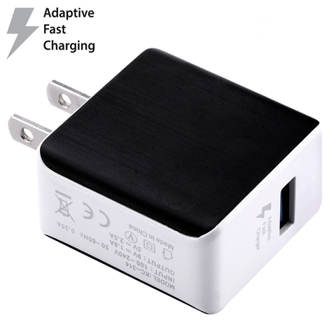QC3.0 USB Quick Charge wall adapter