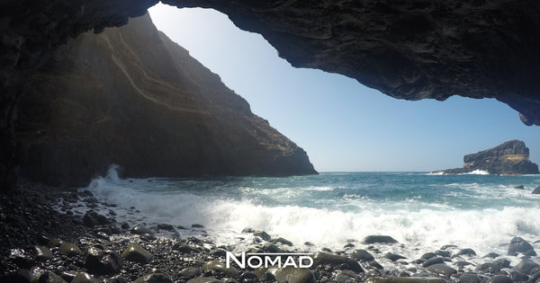 The Rocky Road to Discovering a Secret Cave and Beach - Nomad - Featured Image