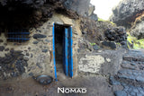 A Fishing and Surfer Den Door and Frying Pan - Nomad