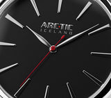 Retro Black 36mm with Steel band