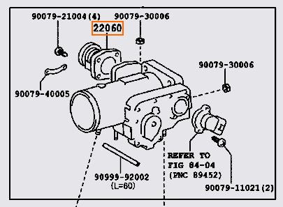 Toyota Aristo JZS161 2JZ-GTE VVTi THROTTLE PEDAL POSITION SENSOR 22060-46020 - Boost Factory