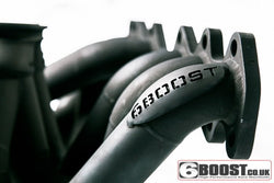 6 Boost 2JZ-GTE T4 Twin Scroll Exhaust manifold for JZA80 Supra MK4 Turbo - Boost Factory