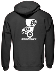 Boost Factory Pull over hoodie RB26-2JZ ''Powered by passion'' IN STOCK NOW!! - Boost Factory