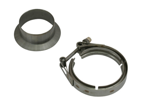 Stainless Marmon flange to V Band adaptor kit For BorgWarner S200 AND S300 TURBOS - Boost Factory