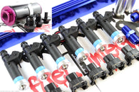 Top Feed Fuel Rail & Filter & 850cc DEKA Fuel Injectors Fits Toyota 2JZGTE 2JZ - Boost Factory